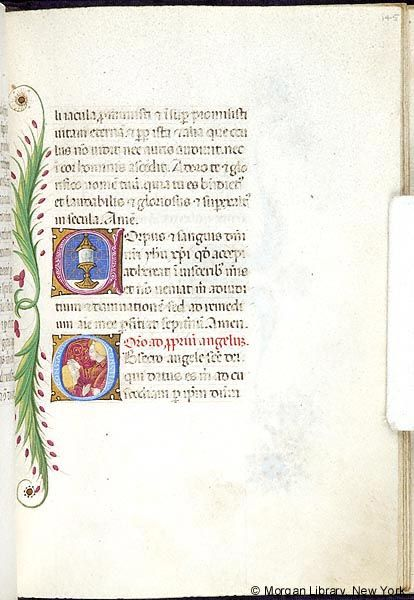 Book of Hours, MS M.454 fol. 145r - Images from Medieval and ...