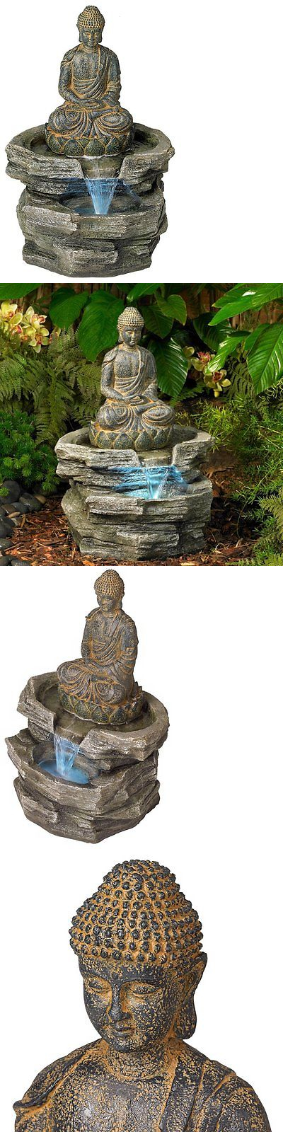 Indoor fountains 20569 sitting buddha 21 high led water fountain indoor fountains 20569 sitting buddha 21 high led water fountain buy it now workwithnaturefo