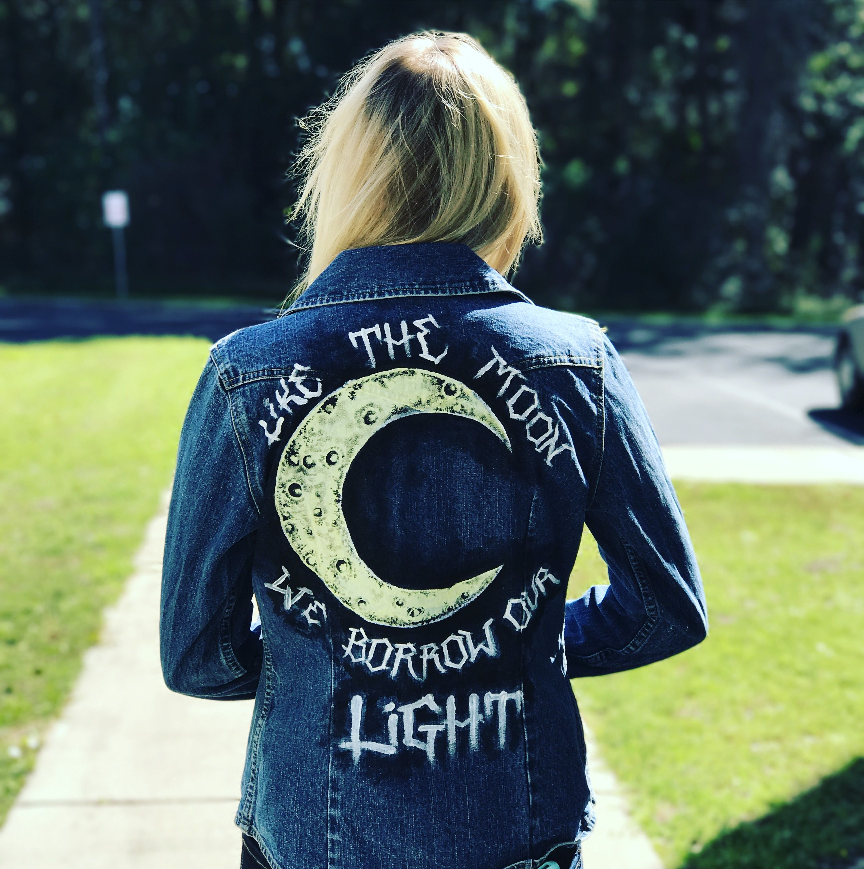 Custom Paramore denim jacket