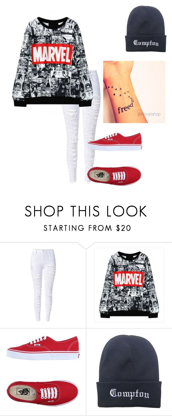 """""""Untitled #152"""" by camilla100 ❤ liked on Polyvore featuring Vans"""