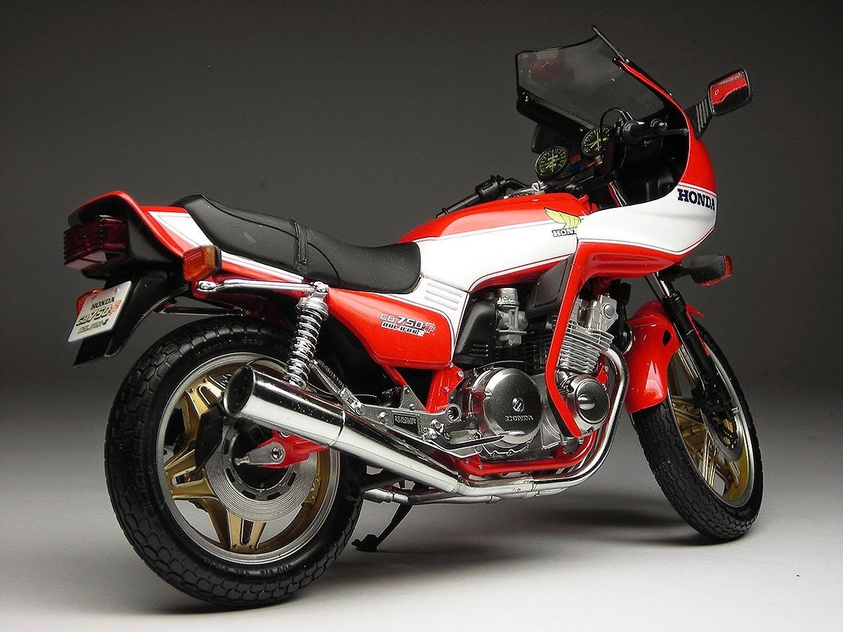 Honda Cb 750 F2 Bol D U0026 39 Or 1981 By Max Moto Modeling  Tamiya