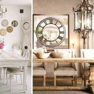 Sala da pranzo provenzale: 29 idee di arredamento in stile ...