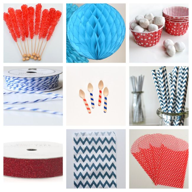 Fourth of July party mood board inspiration