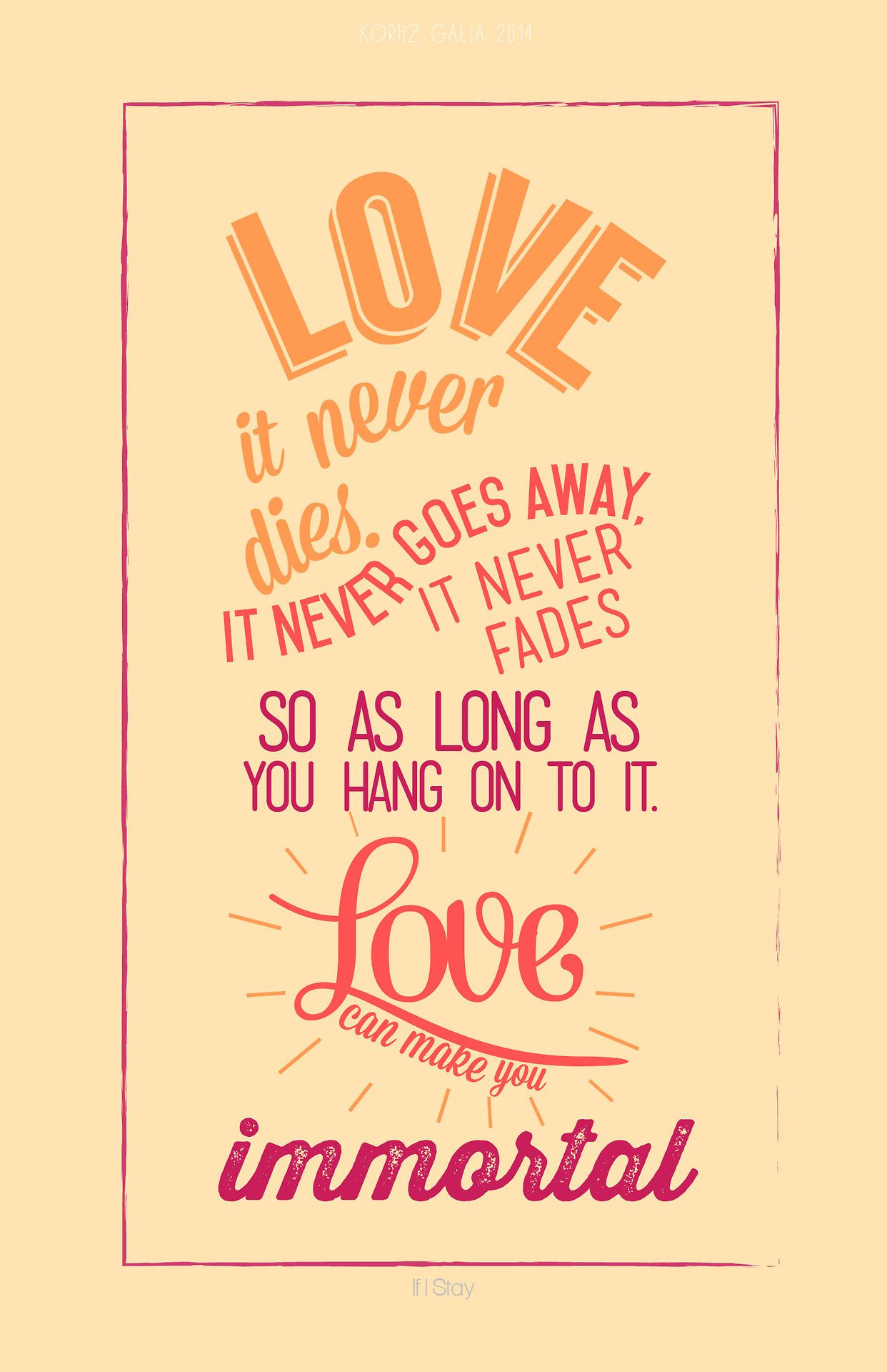 Quote From If I Stay By Gayle Forman Bookish Quotes If I Stay
