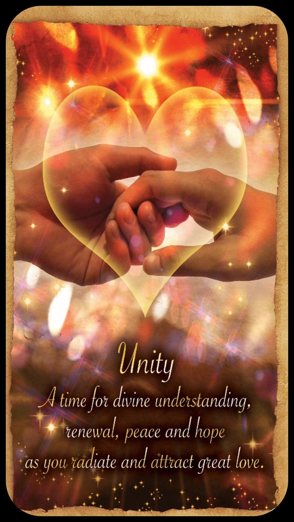 Fortune Reading Cards ~Unity A time for divine ...