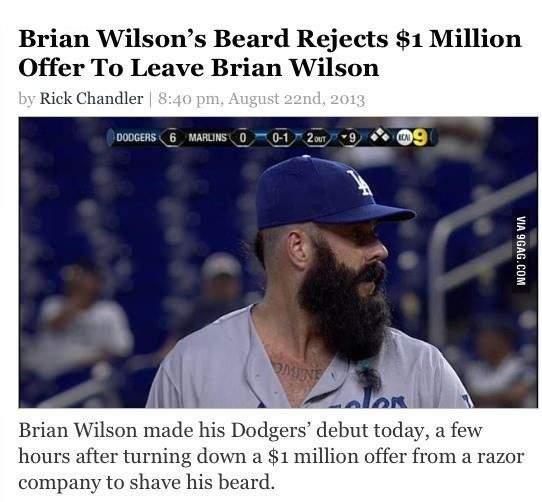 A role model for beards everywhere.