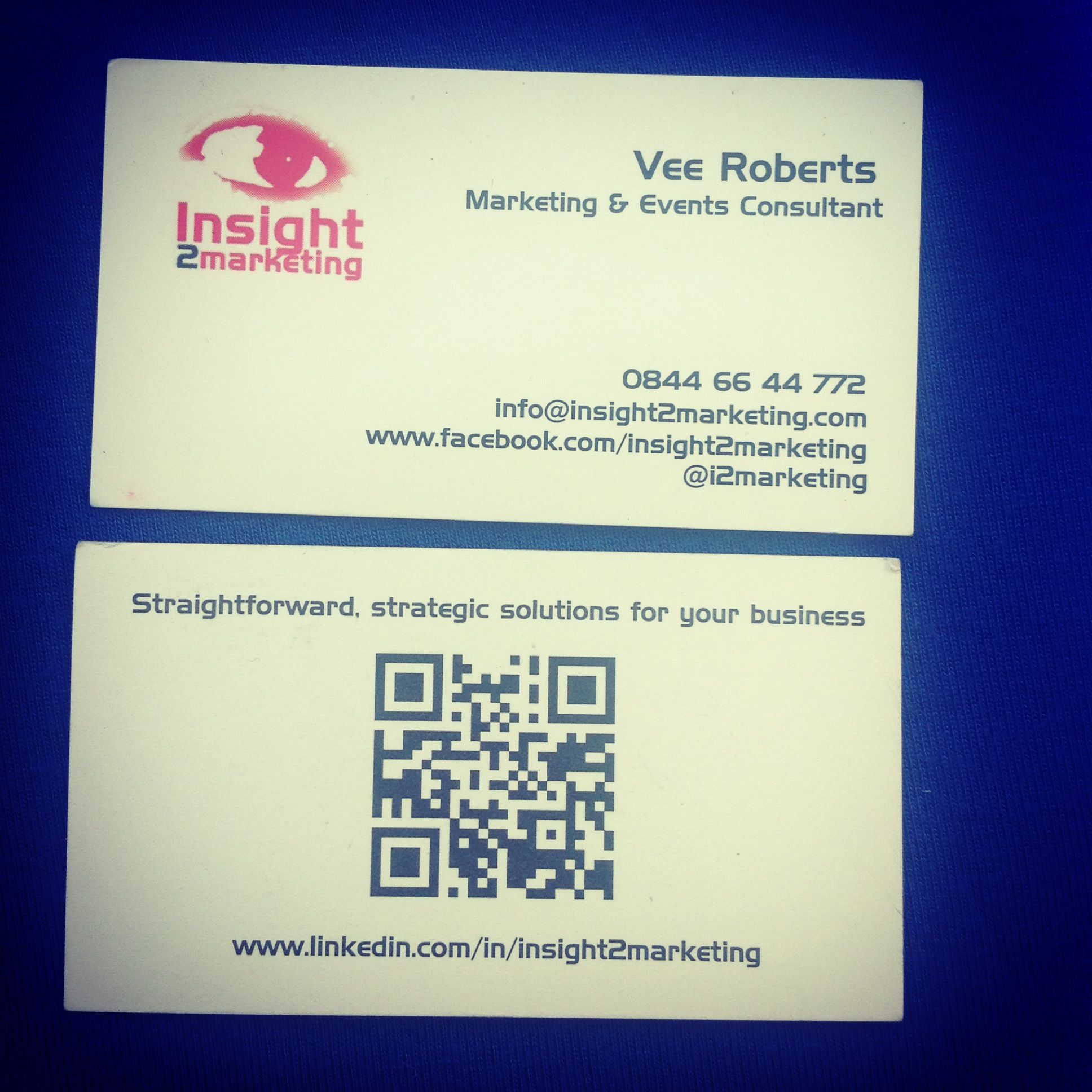 QR Codes on business cards: the basics