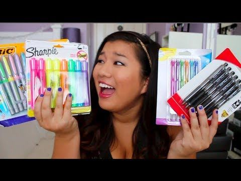 261ecc3db5d Back to School Supplies Haul ♡