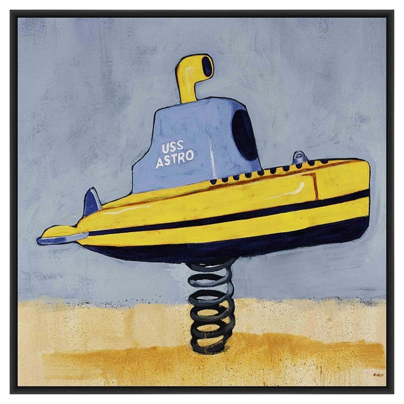 PTM Images Spring Submarine Canvas Wall Art - 9-41795B | Products ...