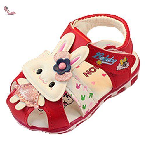 c1ece05a0b9ff Ohmais Enfants Chaussure Bebe Garcon Fille Premier Pas Chaussure premier  pas bébé Sandale - Chaussures ohmais