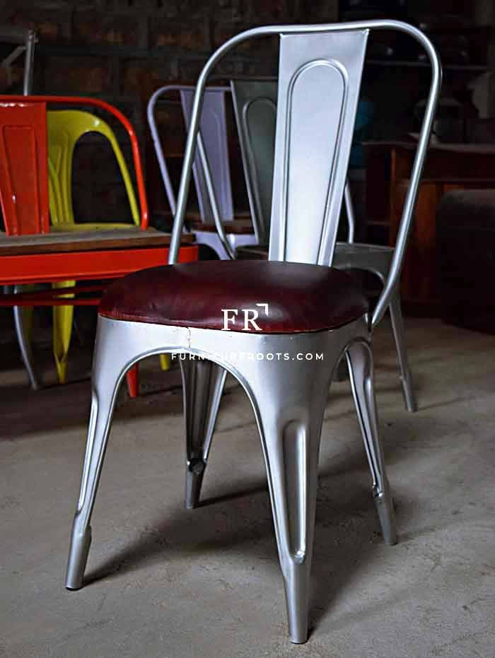 Awe Inspiring French Bistro Dining Chair In Leather Chairs Pub Chairs Pdpeps Interior Chair Design Pdpepsorg
