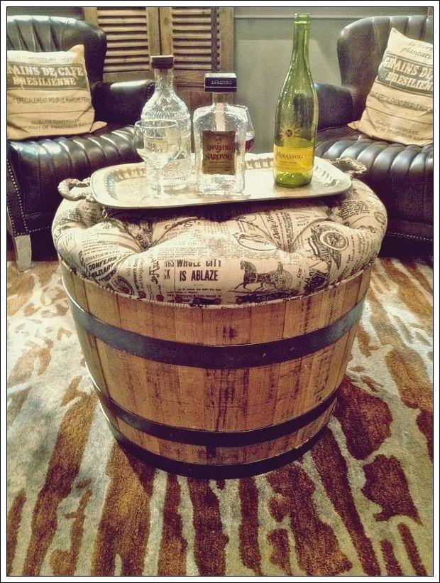 19 Interessante Einsatzmöglichkeiten von Weinfässern in ...