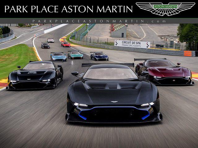 Vulcans At Spa Aston Martin - Park place aston martin