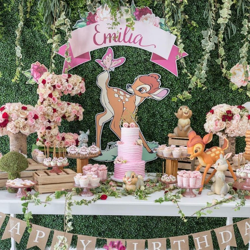 The Greatest Bambi Themed Baby Shower Ideas New Update