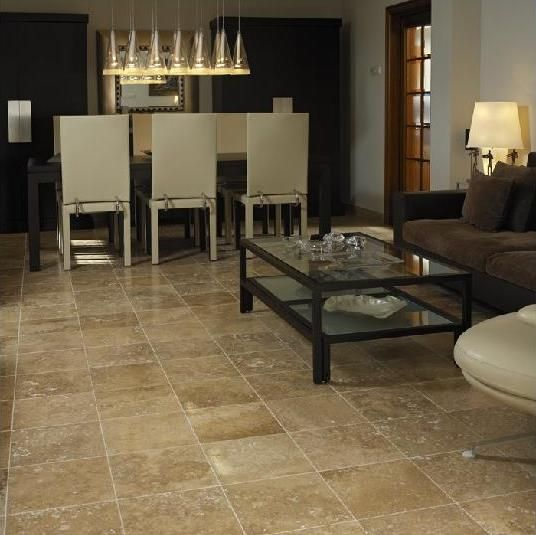Travertine Flooring Living Room Available In 18 X18 And