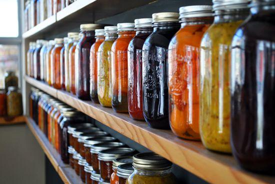 Modern Urban Practices of Preserving Food