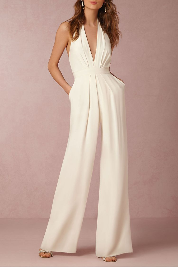 ae0e25c04ebb 10 Unique Wedding Dresses That Are Better Than a Ball Gown