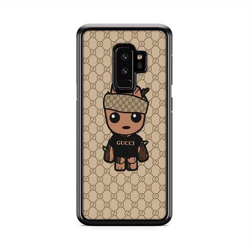 big sale cf969 c6f4c Baby Groot Gucci Samsung Galaxy S9 Plus Case | Caserisa #gucci ...