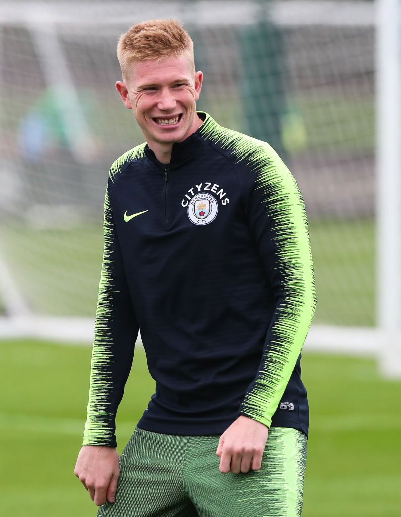Manchester City's Kevin De Bruyne Smiles During Training At... | Manchester  City Football Club, Manchester City, Kevin De Bruyne