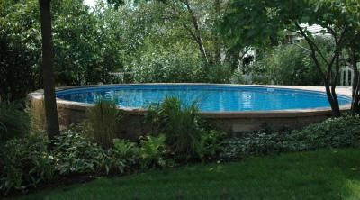 Inground pools for sloped yards pool can be installed for Pool design on a slope
