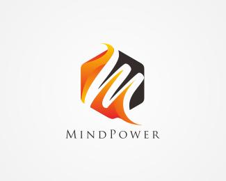 Mind Power Letter M Logo Logo Design Mind Power Letter M Logo Files Available Are Illustrator Eps Editab Simple Logo Design Initials Logo Letter M Logo