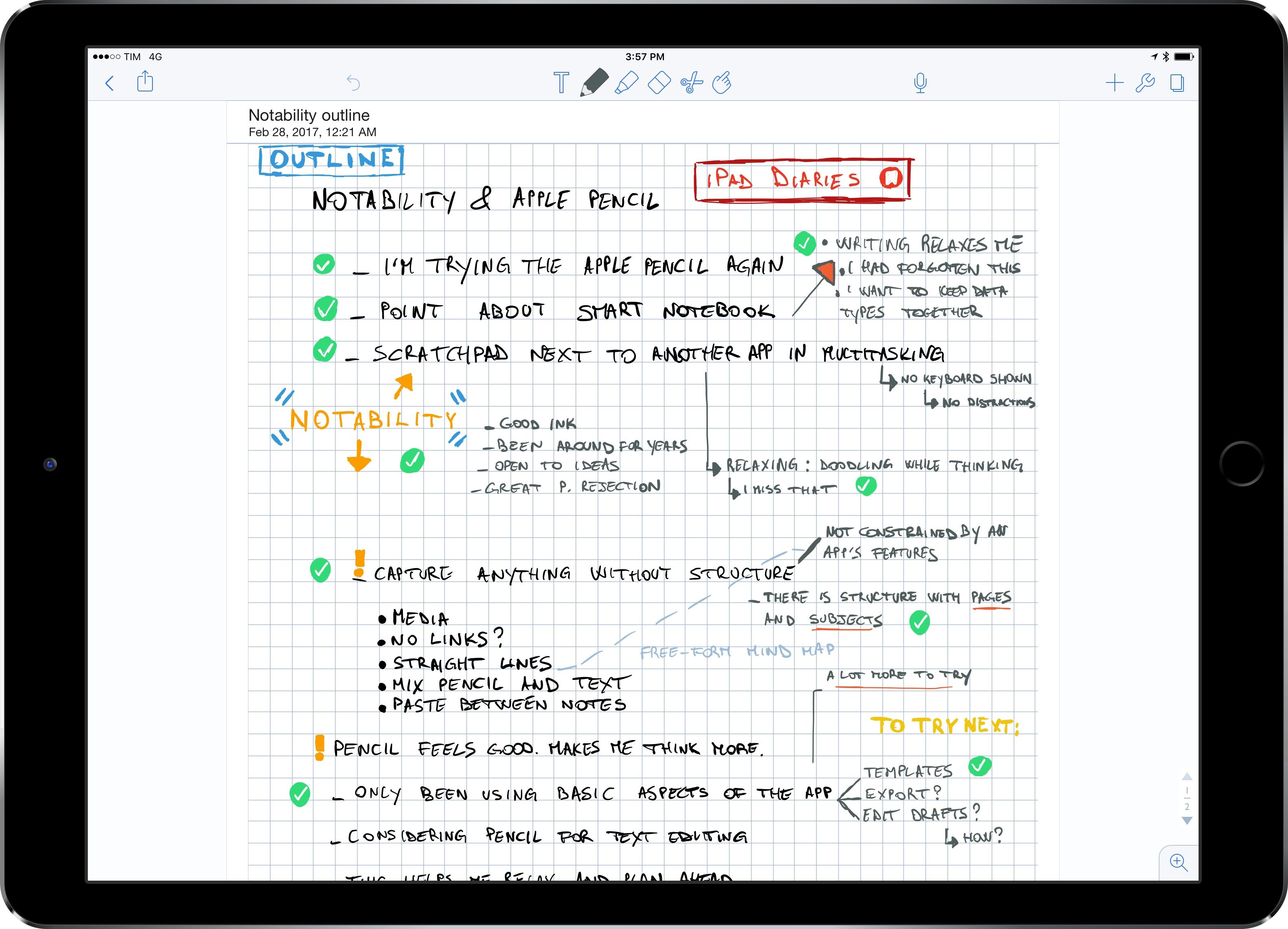 iPad Diaries Apple Pencil, Notability, and the Joy of