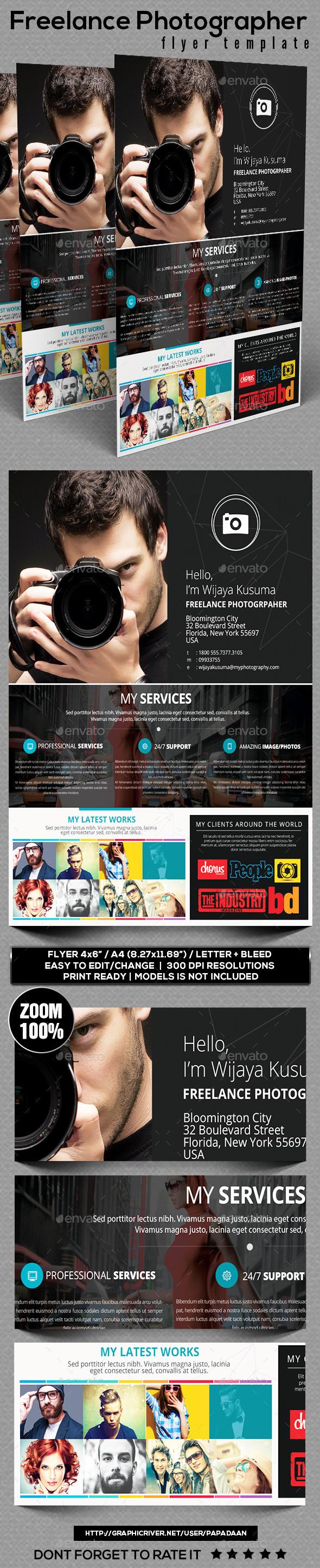 lance photographer flyer template cs3 8 5x11 ad advert lance photographer flyer template cs3 8 5x11 ad advert advertisement