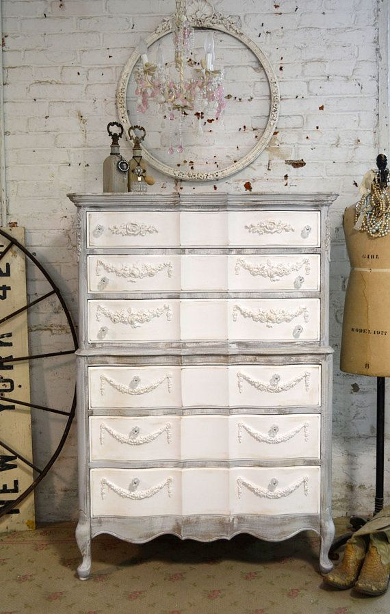 country painted furniture cottage Vintage