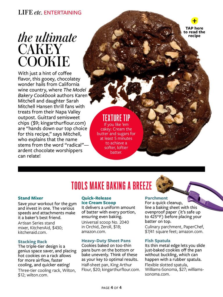 Cookie Baking Tools Coffee Flavor Cookies Recipes