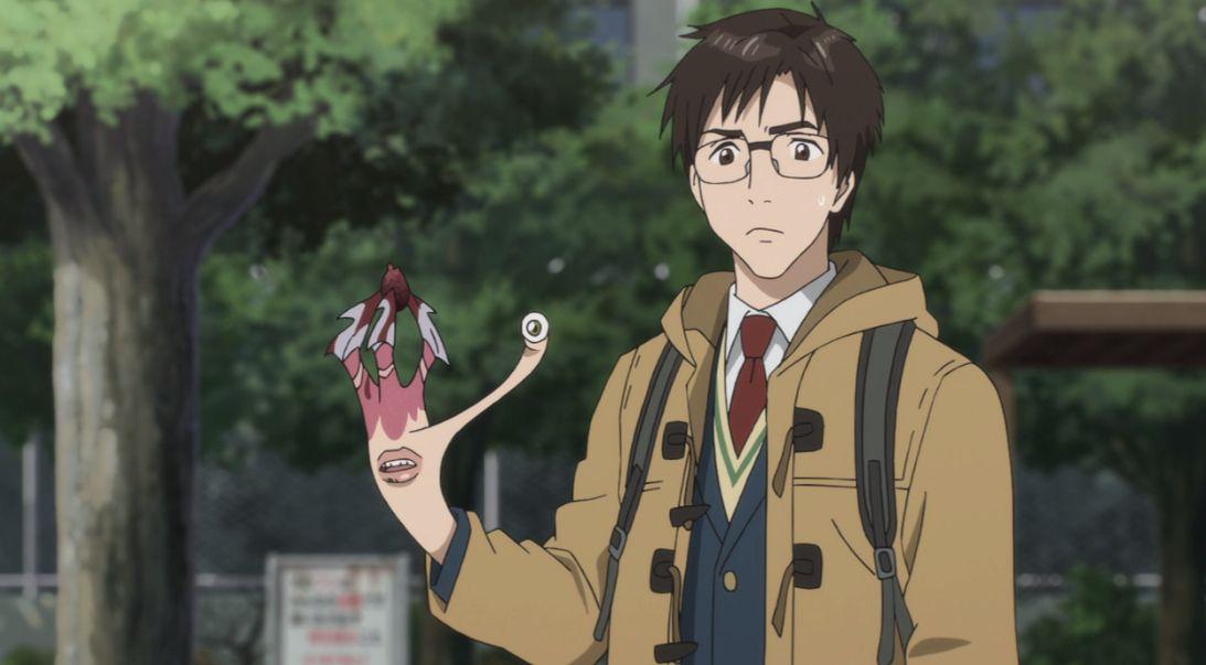 Parasyte anime 2014 anime anime release