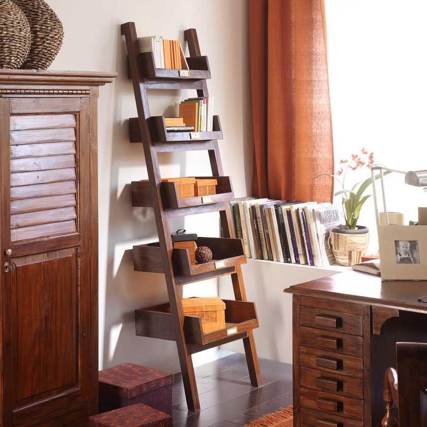 Ladder estanteria 53 teca decoraci n hogar pinterest decoraci n hogar hogar y decoraci n - Hogar del mueble ...