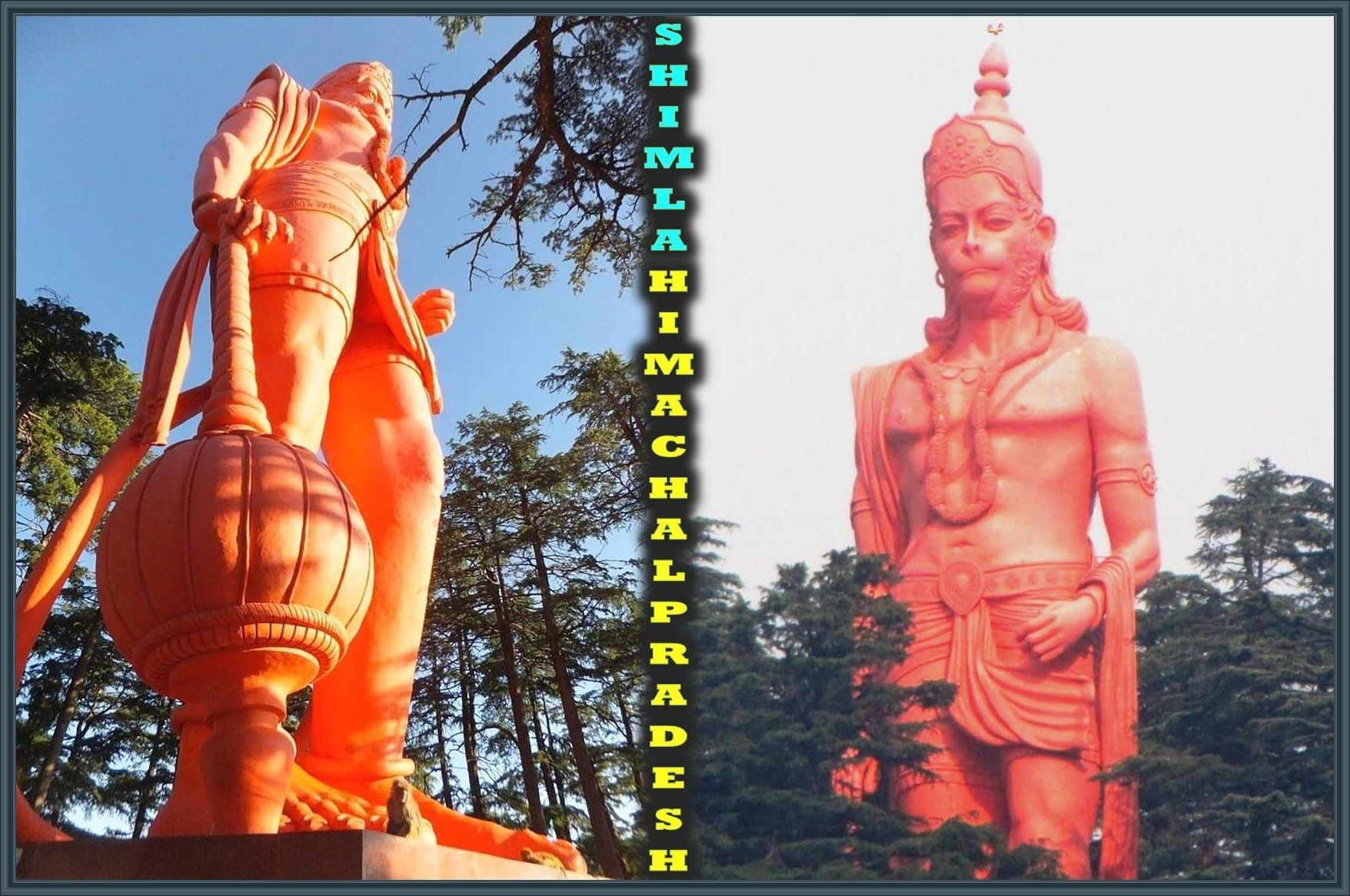 108 Feet Height Sky Touch Majestic Statue Of Lord Hanuman Is