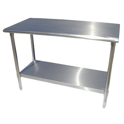 Stainless Steel Work Table From Wayfaircom Crap For The Home - Industrial kitchen table stainless steel