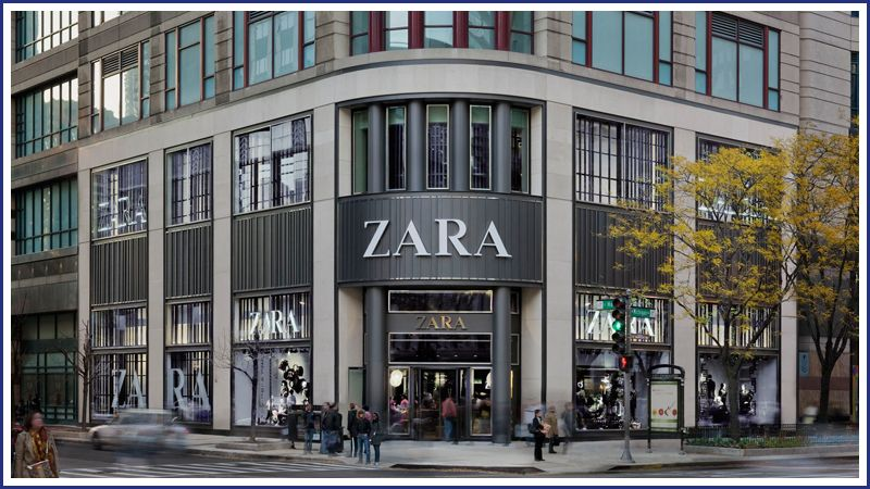 Building Michigan Avenue Flagship Stores For International Brands Like Zara Is A Sweet Spot For Englewood Construction Zara Storefront Design Building