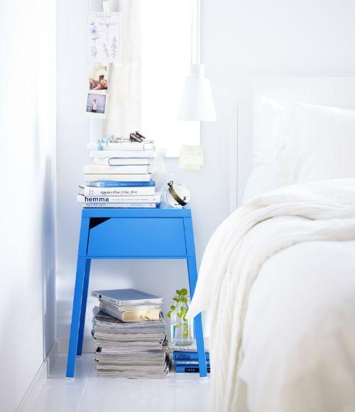 IKEA Fan Favorite SELJE nightstand. There's an opening in