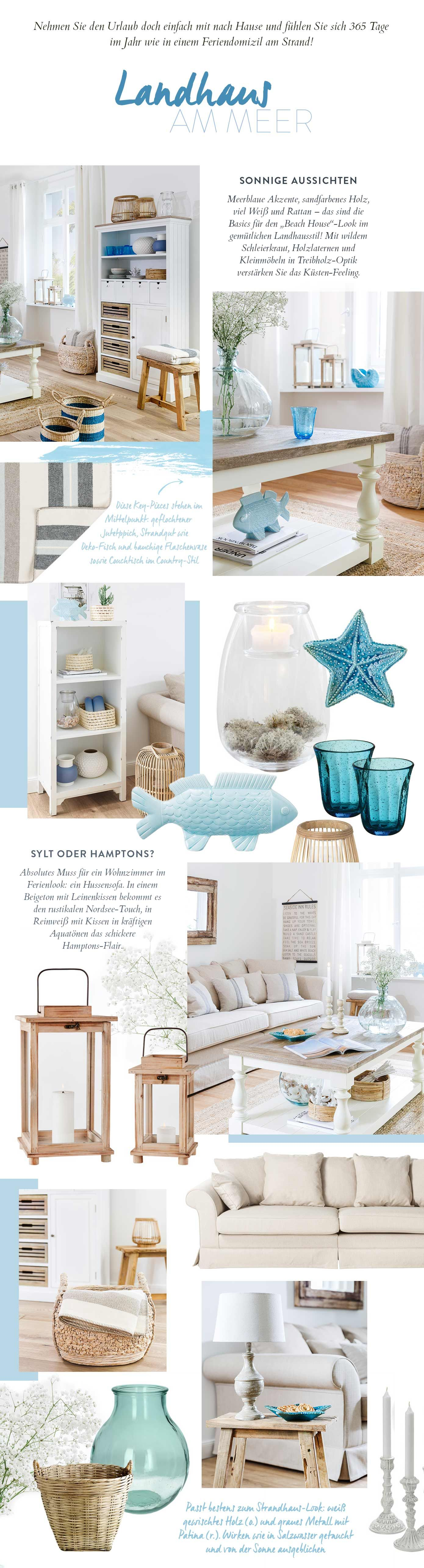 Looks Banner | Livingroom | Pinterest | Maritim, Strandhäuser und ...