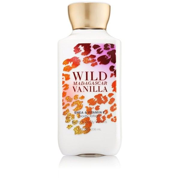 Bath Body Works Wild Madagascar Vanilla Body Lotion 8 Fl Oz. ($8.97) ❤ liked on Polyvore featuring beauty products and bath & body products