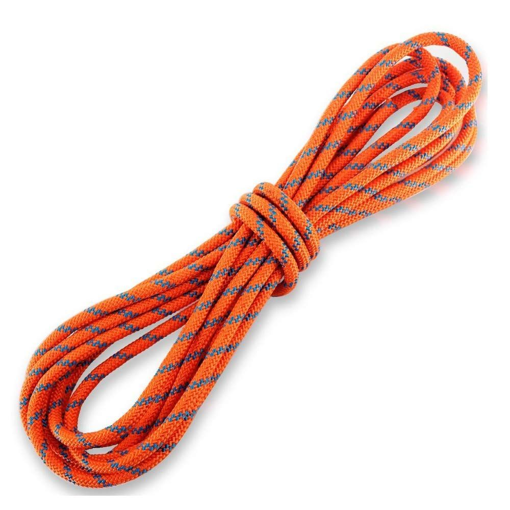 Newdoar 8mm Climbing Accessory Cord High Strength Rope Equipment For Mountain Climb Fire Rescue Escape Outd Rock Climbing Rope Climbing Rope Outdoor Survival