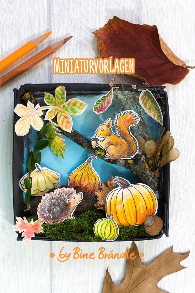 Herbstzauber - Bines Shop in 2020 Herbst Basteln