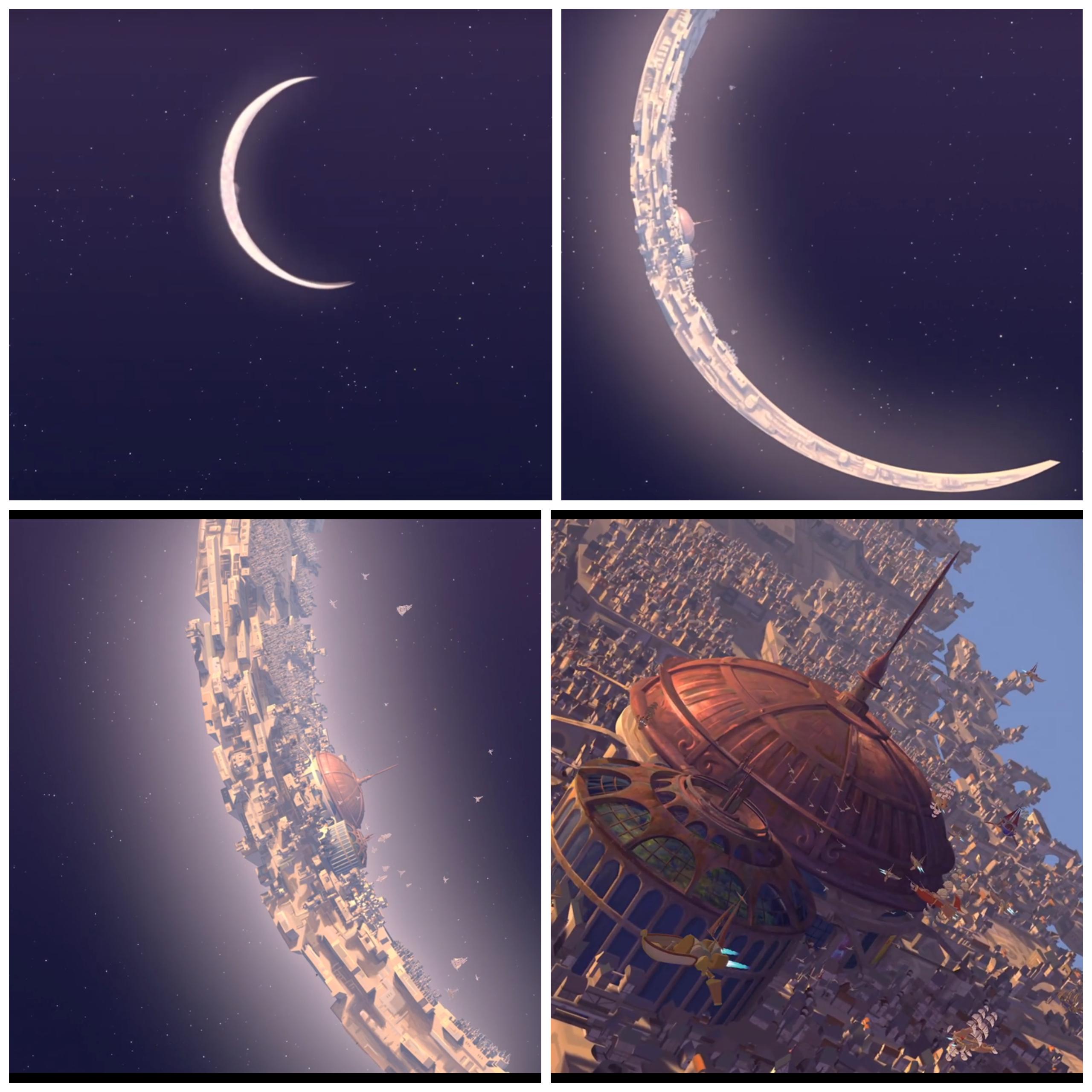 The Spaceport - Treasure Planet (2002) | Treasure planet, Planets art,  Planets