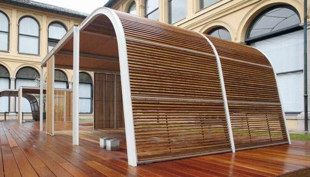Paola Lentiu0027s Cabanne: A Shade Structure Made Modular By Bestetti Associati