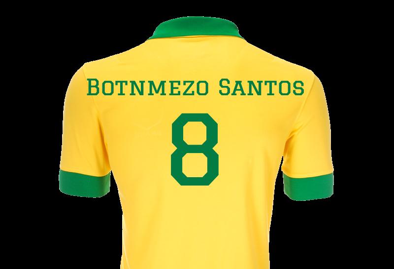 Mitt brasilianske spillernavn