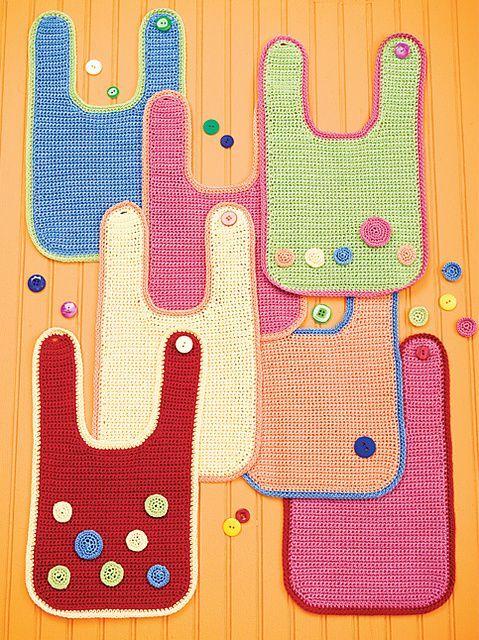 download a FREE pattern every day. ~ Bib | Crochet Stash .Tumblr ...