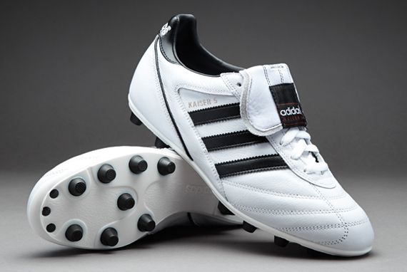 sneakers for cheap d2380 6bbff adidas Football Boots - adidas Kaiser 5 Liga FG - Firm Ground - Soccer  Cleats - WhiteCore BlackCore Black - B34257