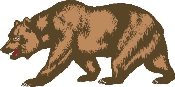 California State Outline White California Bear California Bear Tattoos Art Of Zoo
