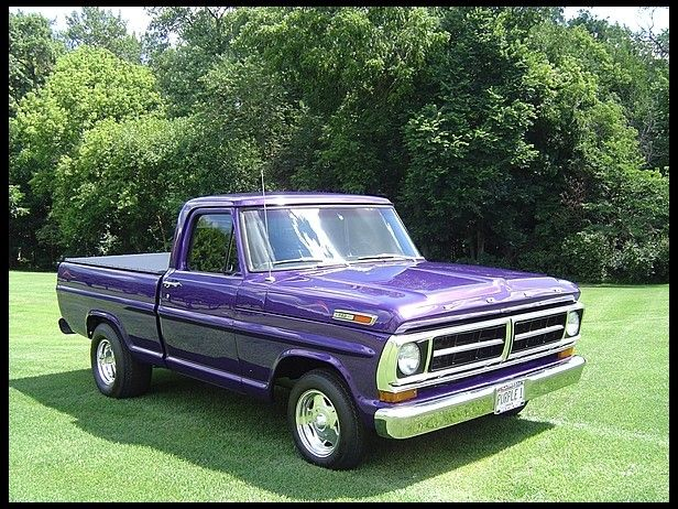 1971 Ford F100 Pickup Cancelled Lot At Mecum Auctions Ford Trucks 1971 Ford F100 Pickup Trucks
