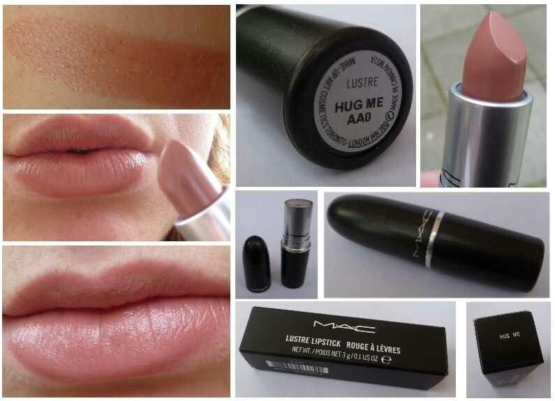 """MAC """"Hug Me"""". The lipstick I got today. I love MAC's recycle 6 empties and get a free lipstick!!"""
