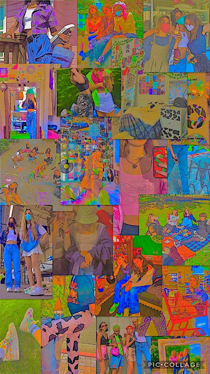 Bright Indie Wallpaper In 2020 Edgy Wallpaper Goth Wallpaper Indie Art