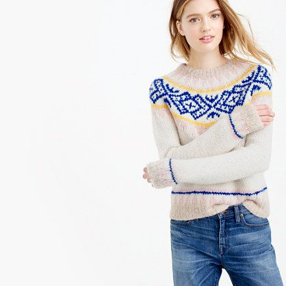 We love winter, thanks to Fair Isle. We can't get enough of this ...