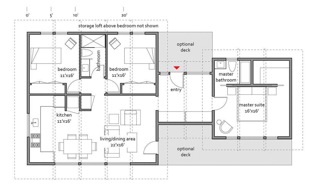 marvelous cedar homes floor plans #9: Cedar 1148 - Lindal Cedar Homes